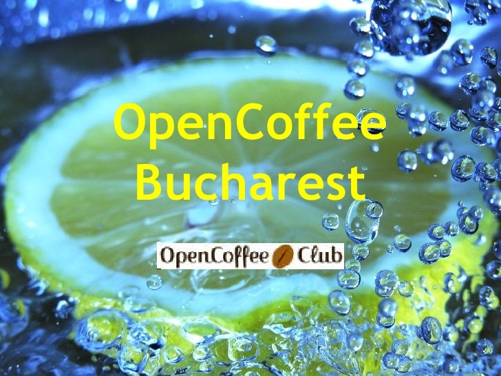 OpenCoffee Bucharest