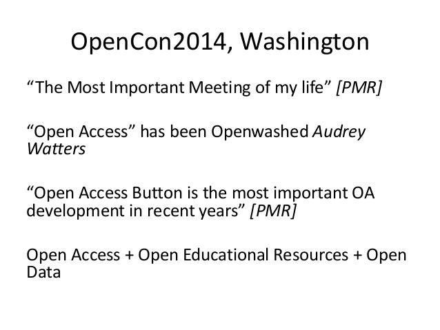 Embrace the Open Revolution Slide 3