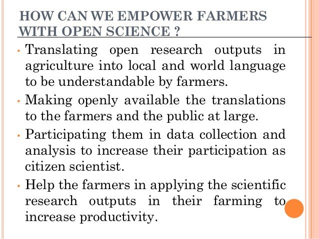 Translating Open Agricultural Research to Local & World languages for Ethiopian Farmers to Promote Citizen Science - Solomon Mekonnen - OpenCon 2017 Slide 3