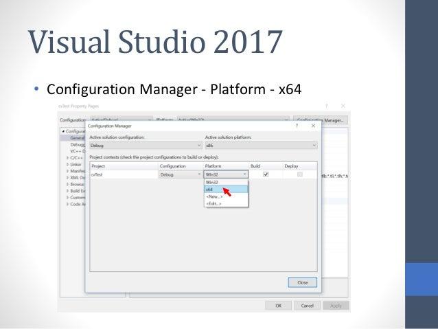 Visual Studio X64