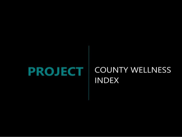 County Ranking Index