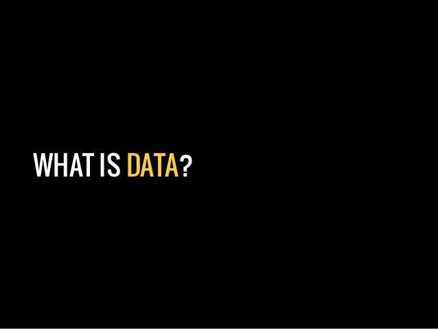 Open Data: Open Your Mind Slide 3