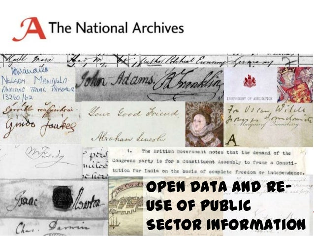 Open Data and Reuse of Public Sector Information