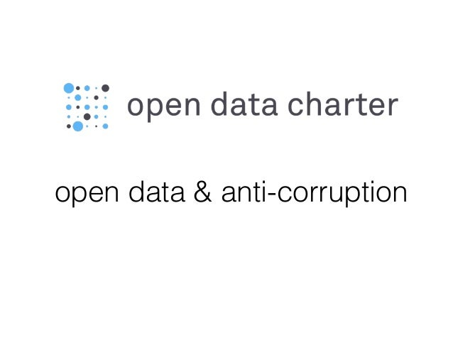 open data & anti-corruption