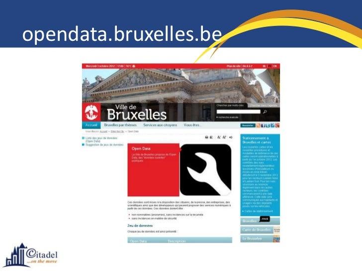 opendata.bruxelles.be