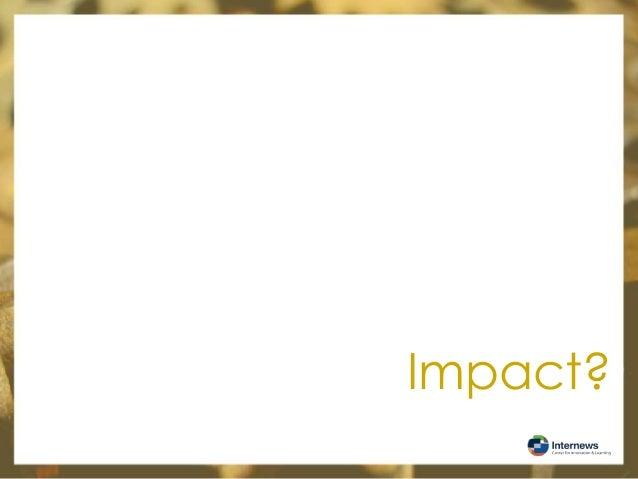 Impact?