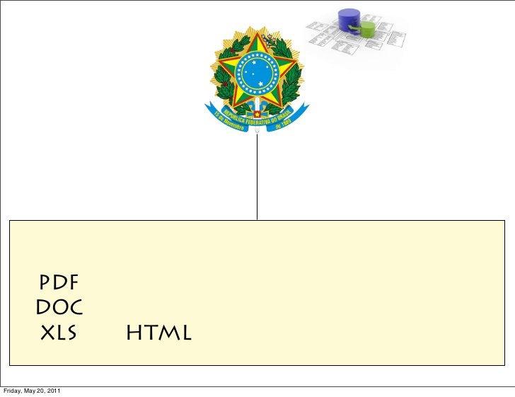 PDF          DOC          XLS          HTMLFriday, May 20, 2011