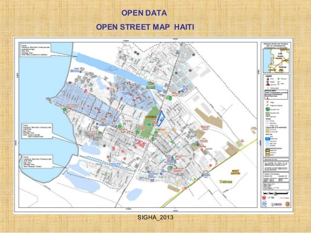 Open data iom haiti state of the map open dataopen street map haitisigha2013 sciox Choice Image