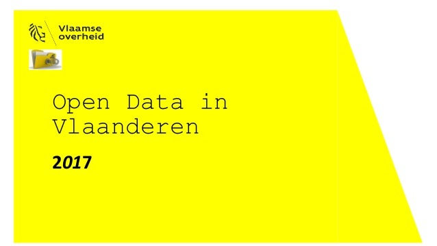 Open Data in Vlaanderen 2017