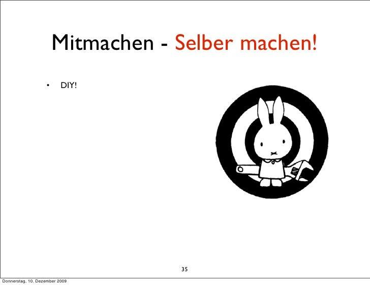 Mitmachen - Selber machen!                    •      DIY!                                        35 Donnerstag, 10. Dezemb...