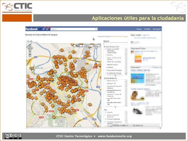 Aplicaciones útiles para la ciudadaníaCTIC Centro Tecnológico •   www.fundacionctic.org