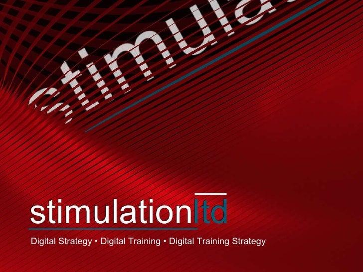Digital Strategy • Digital Training • Digital Training Strategy