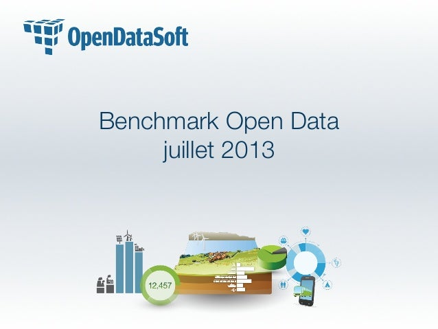 Benchmark Open Data juillet 2013