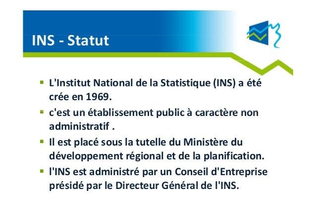 Open Data INS Tunisie- 2012 Slide 2
