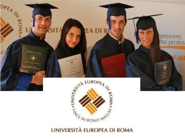 Università Europea di RomaCorso di Laurea Triennale in Filosofia (L-5)