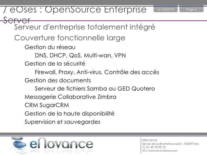 eHaelix : Virtualisation et Réplication Temps Réel </li></ul><li>Quelques références : Canal Plus, OCDE, Générali Assuranc...
