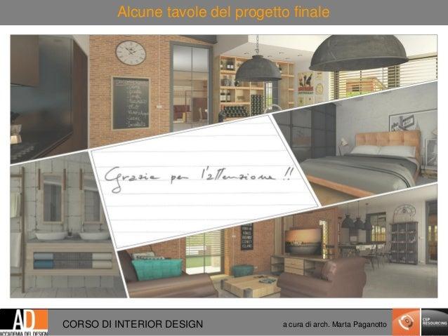 open day presentazione corso di interior design