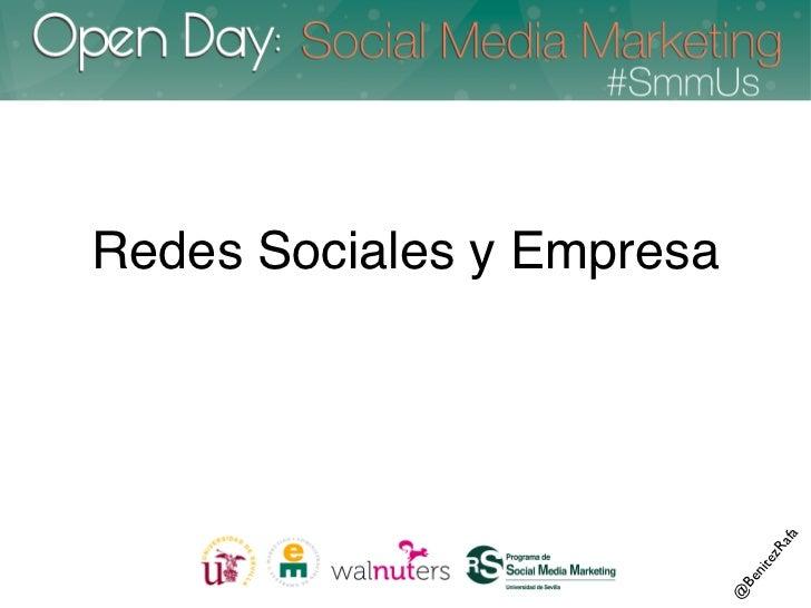 Redes Sociales y Empresa                                                                    afa                           ...