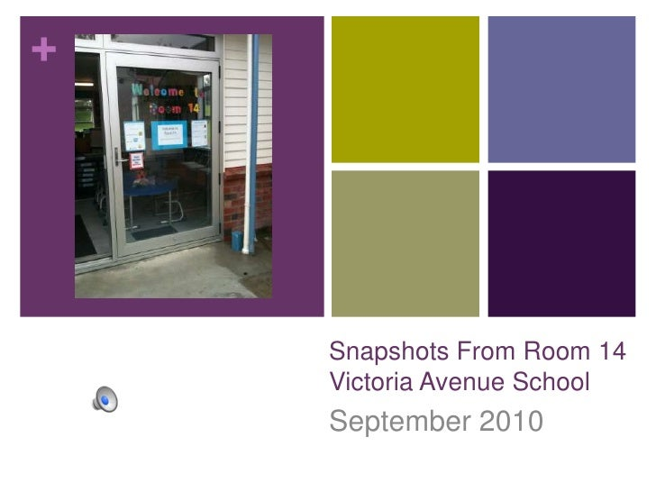 Snapshots From Room 14Victoria Avenue School<br />September 2010<br />