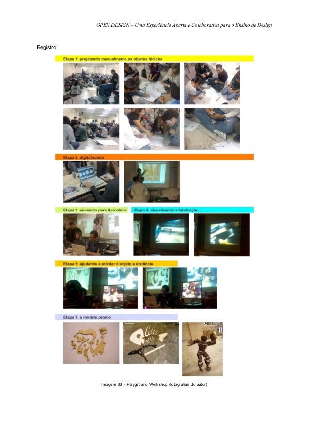 OPEN DESIGN – Uma Experiência Aberta e Colaborativa para o Ensino de DesignRegistro:              Imagem 03 – Playground W...