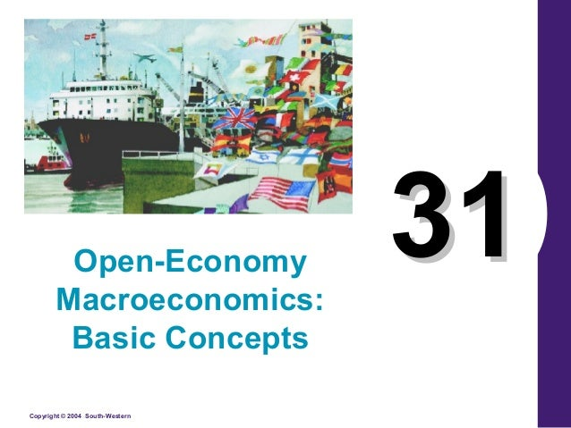 open economy macroeconomics notes The new open economy macroeconomics (noem) paradigm set forth by obstfeld  and  notes: the prior is truncated at the boundary of the determ para (2) list.