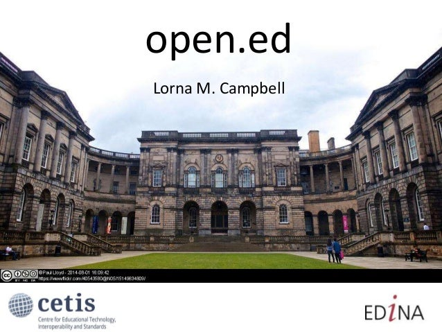 open.ed Lorna M. Campbell
