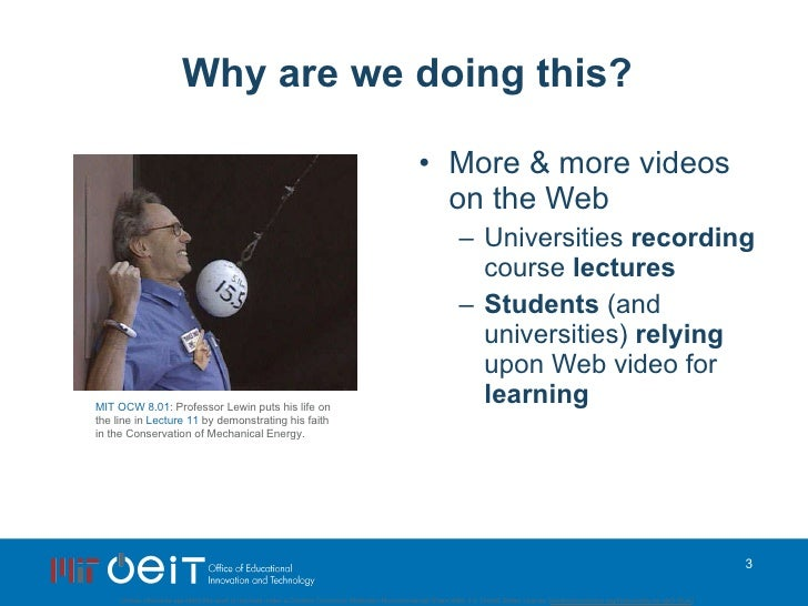 SpokenMedia: Content, Content Everywhere...What video? Where? at OpenEd 2009 Slide 3