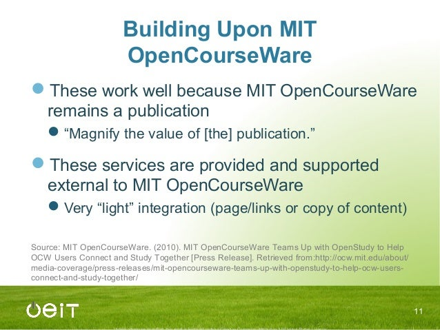 mit opencourseware physics walter lewin Walter lewin, mit physics  so i wasn't completely deprived of prof lewin's  vibration and waves lectures from fall 2004 at the mit opencourseware.