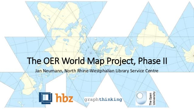 The OER World Map Project, Phase II  Jan Neumann, North Rhine-Westphalian Library Service Centre  graphthinking