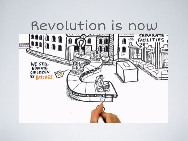 Revolution is now