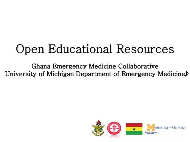 Collaborative Teaching Websites ~ Ghana emergency medicine collaborative