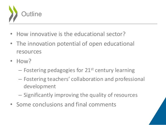 Innovative Classroom Materials ~ Open educational resources sharing content and knowledge