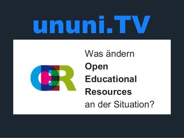 Arbeitswelt & Open Education  Slide 3
