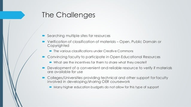 Open education resources Slide 3
