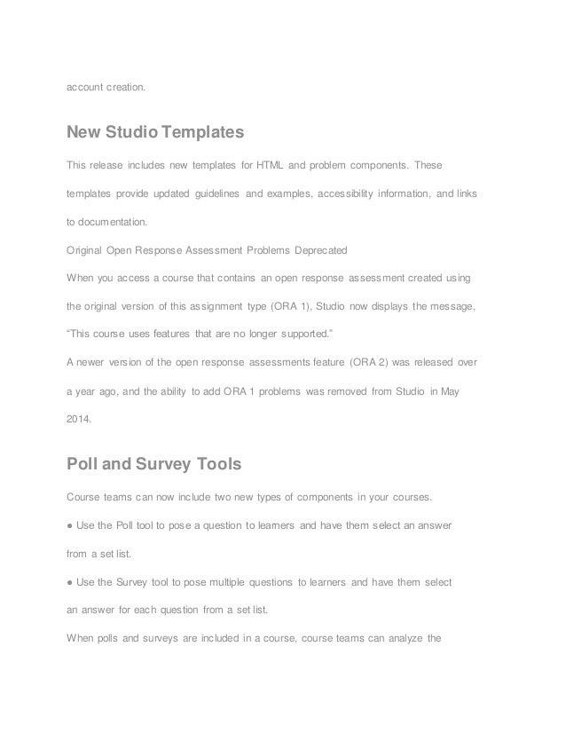 Open edX Cypress Release Features