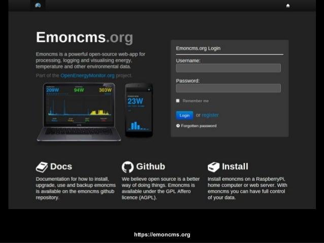 Open Energy Monitor Github