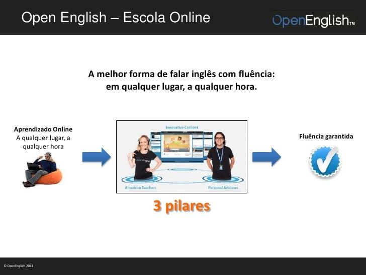 Open English – Escola Online                             A melhor forma de falar inglês com fluência:                     ...