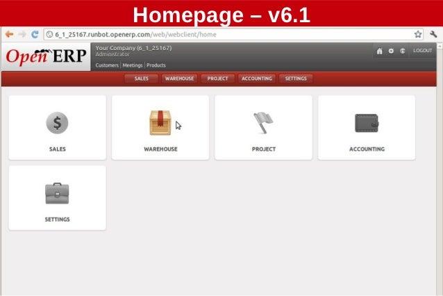 Homepage – v6.1