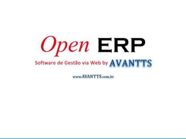 Porque o OpenERP OpenERP é a solução em gestão empresarial mais completa e flexível, com vários casos de sucesso nos mais ...