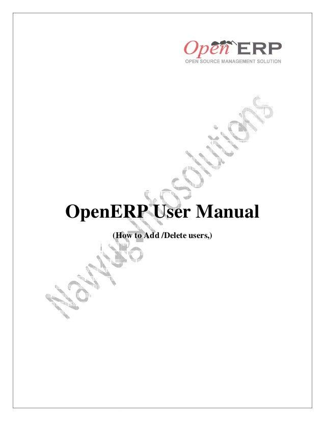 Openerp functional book / user manual | microsoft outlook.
