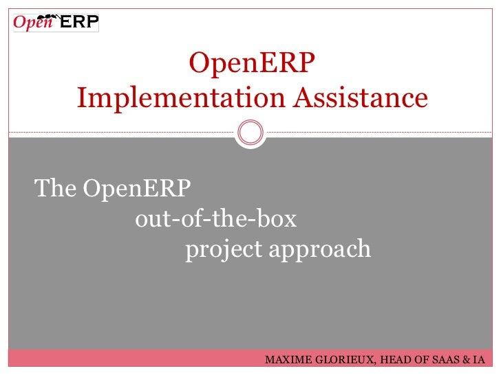OpenERP Implementation Assistance - Partners