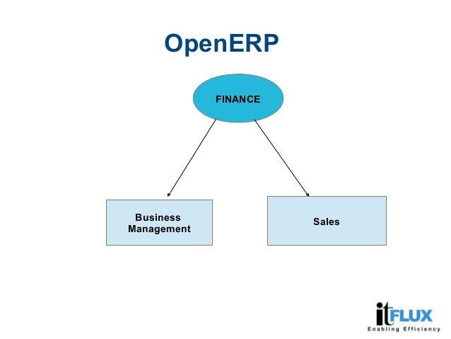 FINANCE Business Management Sales OpenERP