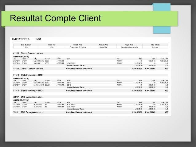 Resultat Compte Client