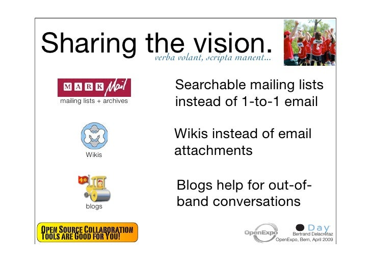 Sharing the vision.             verba volant, scripta manent...                                       Searchable mailing l...