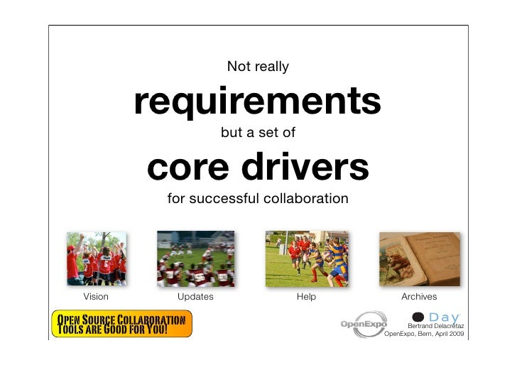 Not really                requirements                                  but a set of                   core drivers       ...