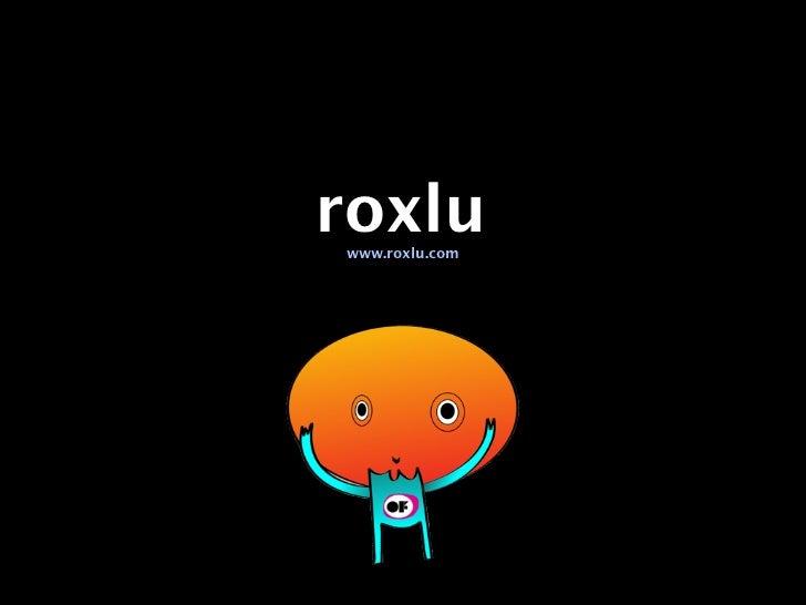 roxluwww.roxlu.com