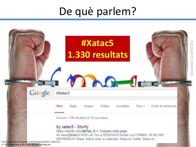 Presentació del #Xatac5 a: OpenGirona15  Slide 3