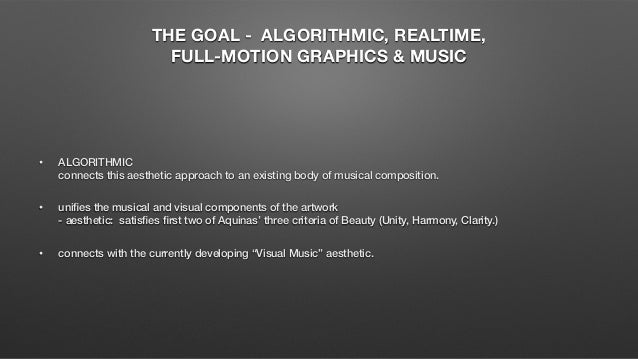 algorithmic music Composing with genetic algorithms bruce material from the output of a stochastic music generator the algorithmic composition system variations is.