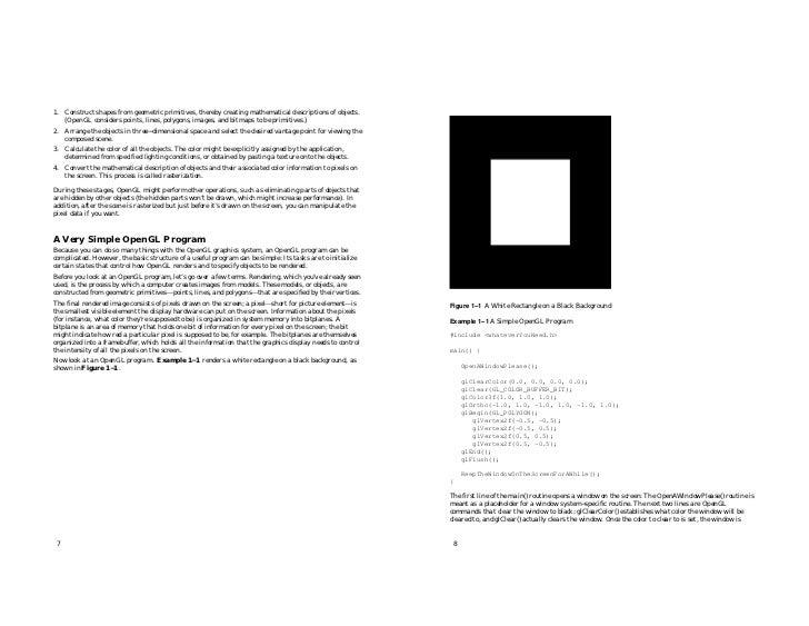 opengl es programming guide pdf