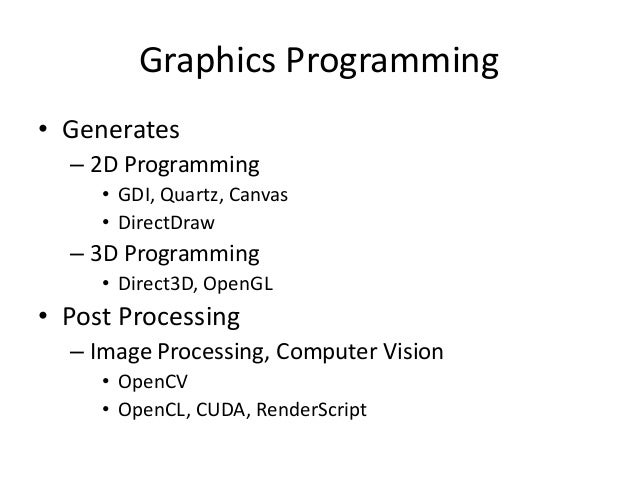OpenGL Shading Language Slide 2